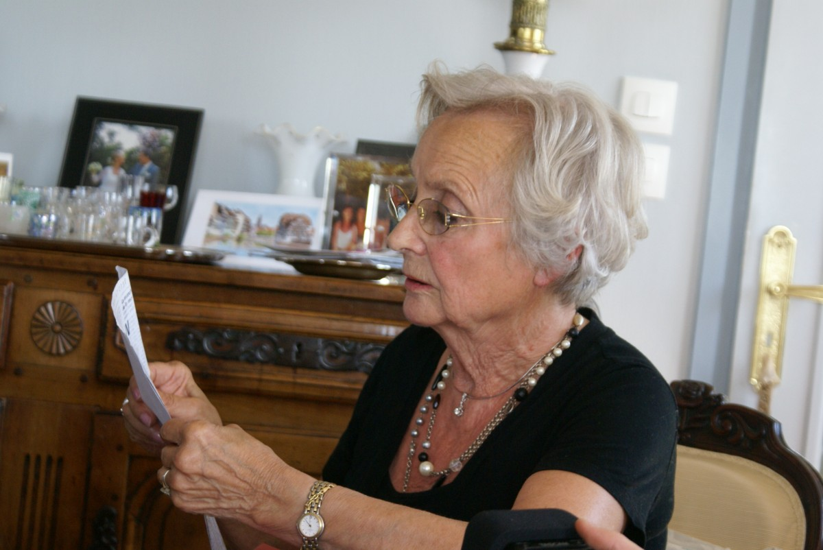 Rencontre avec Mme Bomy-Vanheeckhoet